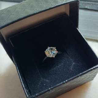 Luxury ring silver ring purposes ring 戒子