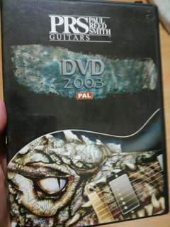 PRS Guitars DVD 2003 #blessing