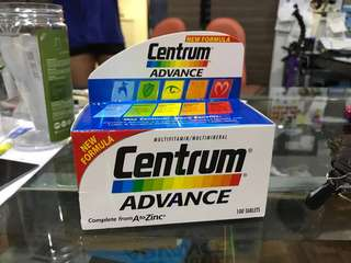 Centrum Advance Multi Vits 100 Tablets