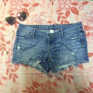 Denim shorts (low)