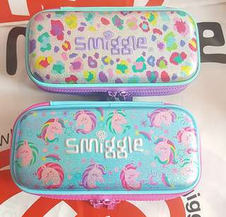 Smiggle small double up hardtop pencil case