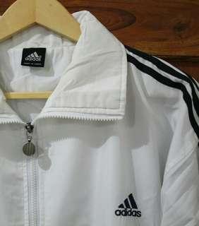 Jaket adidas putih #mausupreme