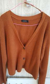 (XL) Glassons crop long sleeve cardigan