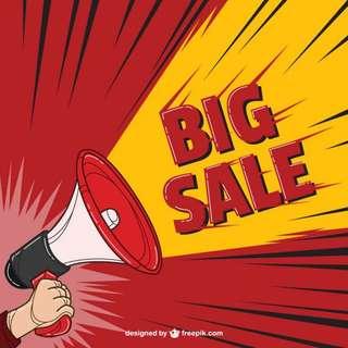 SALE! Raya sale!!