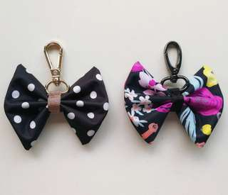 Jujube bow charms