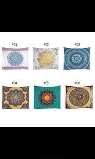 Mandala Tapestry (new designs)