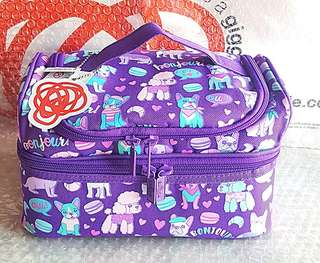 Smiggle double decker lunchbag WOAH collection