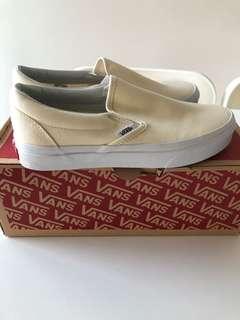 VANS classic slip-on (cream white)