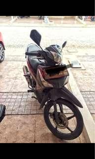 Honda Supra X 125 (Helm in) August 2014 , KM rendah.