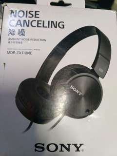 Sony Headphone MDR-ZX110NC noise cancelling cancelling