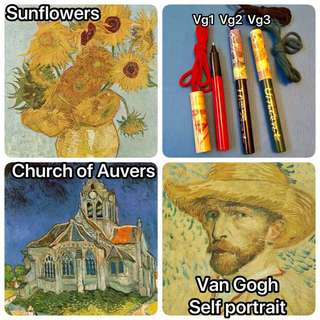Van Gogh pens