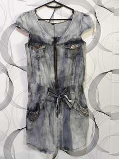Korean Denim Style Dress