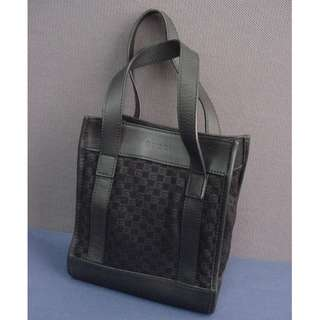 Gucci 細手挽袋 - black color; small bag