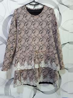 Korean Style Long Sleeve Dress