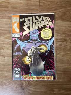 Marvel comics Silver surfer emboss foil cover limited edition
