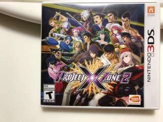 3DS Project X Zone 2