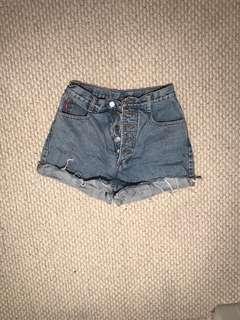 Vintage Bongo High Waisted Shorts