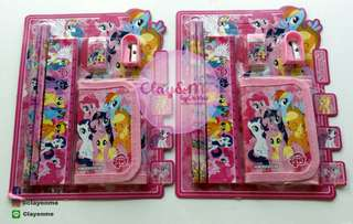 My Little Pony School Supplies set