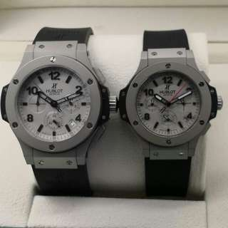 HUBLOT BIG BANG COUPLE CRONOGRAPH EXCLUSIVE