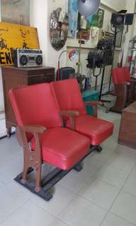 Antique Cinema Chairs