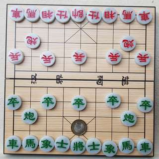 Certified Type A Jadeite Display Chinese Chess 中国象棋