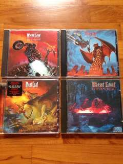 Meatloaf Bat Out Of Hell 1/2/3 CDs