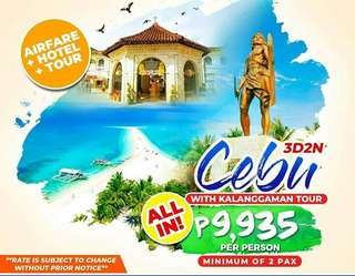 Cebu All-In with Kalanggaman Tour