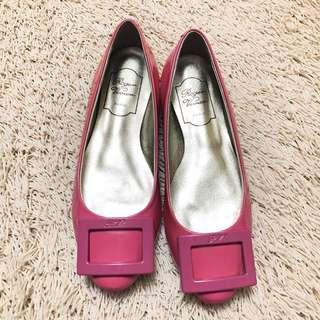 Authentic ROGER VIVIER Gommette Patent Ballerina Flats