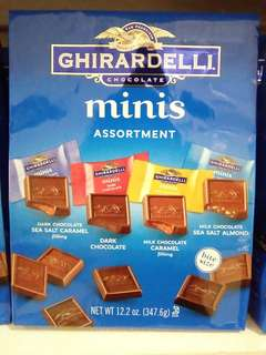 Ghirardelli minis 347.6g assortment