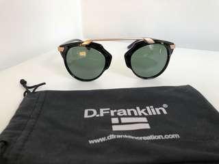 D Franklin - Sunglasses - Black/Rose Gold