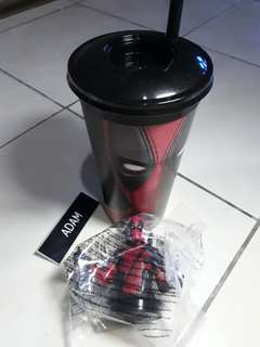 GSC Cinema Merchandise - Deadpool Tumbler