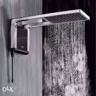 ACQUA STORM SHOWER (BLACK/CHROME)