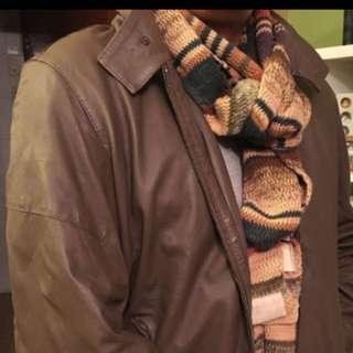 Trussardi Leather Jacket Org:$6xxx Size:M 皮褸