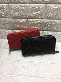 Free SF! LV 2 Zipper Wallet