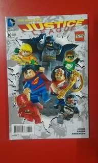 Justice League #36 Lego Variant