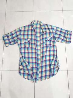Vintage Shirt Chequered #OCT10