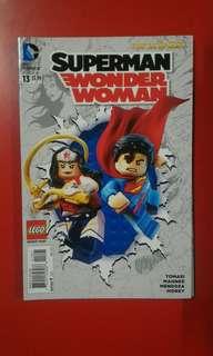 Superman / Wonder Woman #13 Lego Variant