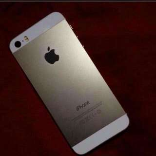 IPHONE 5S 32GB GOLD FOR SALE/SWAP