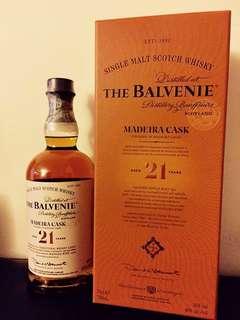 Balvenie Mederia Cask 21 Years