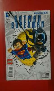 Batman Superman #16 Lego variant