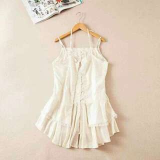 Korean Style Glitter Mini Dress
