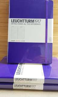 Leuchtturm1917 notebook in line, dotted or blank pages
