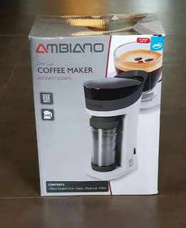 Ambiano Single Serve Coffee Maker with 500ml Flask
