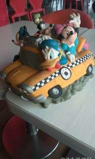 🚚 古董disney taxi收藏品