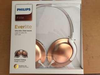 Philips Flite Evernote Rose Gold Headphone