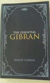 The Essential Gibran by Kahlil Gibran
