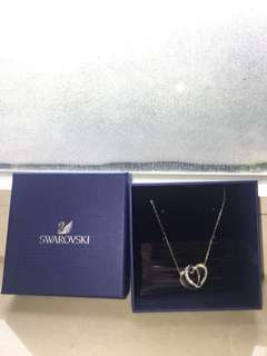 Swarovski Silver Heart Necklace