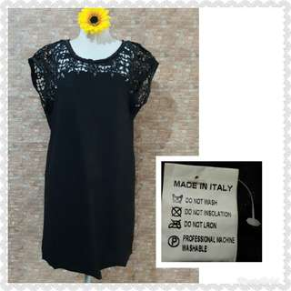 BLACK SKULL DESIGN DRESS W:UP TO 36""