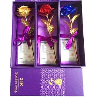 24K GOLDEN ROSE