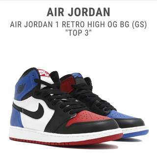 Jordan 1 Retro Top 3 UA 1:1